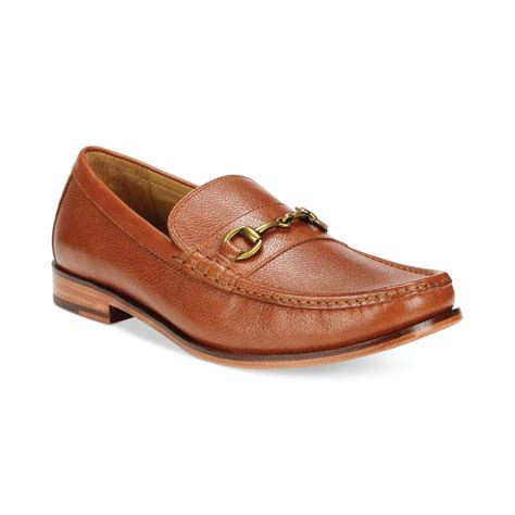 cole han loafers cole haan hudson bit loafers in brown for medium