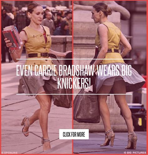 Even Carrie Bradshaw Wears Big Knickers by Even Carrie Bradshaw Wears Big Knickers Fashion
