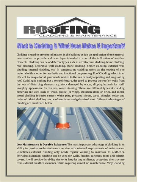 7 types of cladding what is cladding what does makes it important