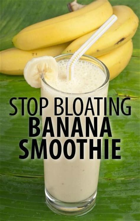 Detox Smoothies For Bloating by Dr Oz Jan You Ary Weight Loss Bloat Busting Banana