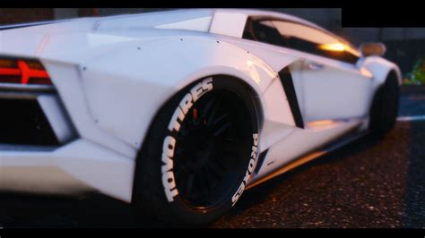 lamborghini aventador engine 2015 lamborghini aventador liberty walk hq animated