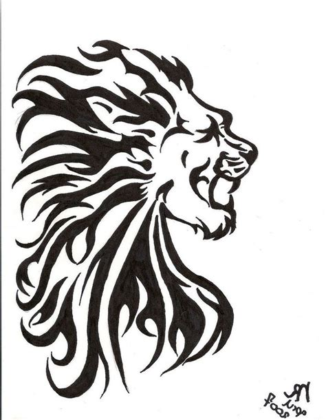 lion of judah tattoo design of judah tribal www galleryhip the