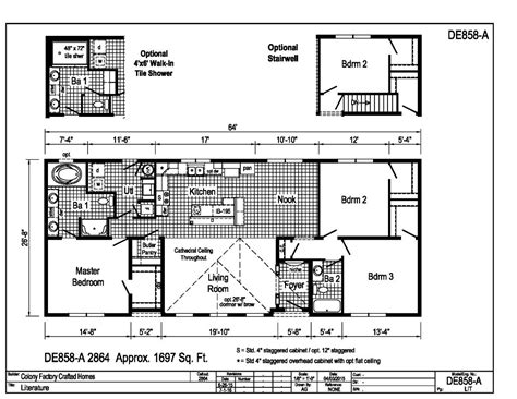 floor plan for 1500 sq ft house gt floor plans gt 1500 1700 sq ft