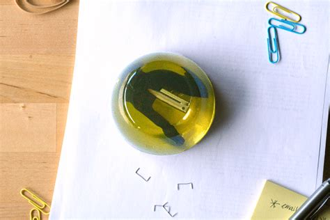 jello design html diy stapler in jell o paperweight inspired by the