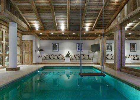 swimming pool room la grande roche courchevel 1850 luxury chalet with