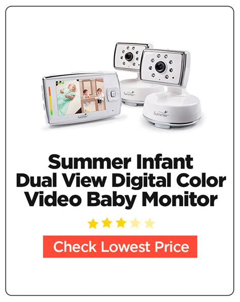 summer infant dual view digital color baby monitor 10 best baby monitors for buyer s guide and