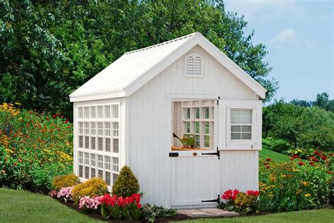 Cottage Company by Cottage Company 8x16 Colonial Gable Greenhouse