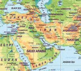 middle east map atlas mountains the middle east southwest asia and the middle east