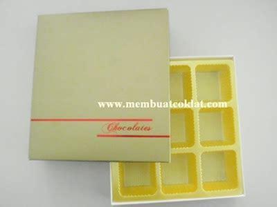 Kotak Kalung Bentuk Petak coklat pembungkusan coklat