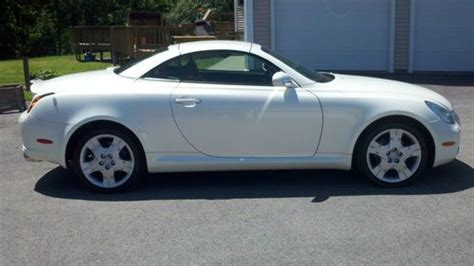 lexus convertible 4 door buy used 2004 lexus sc430 base convertible 2 door 4 3l in