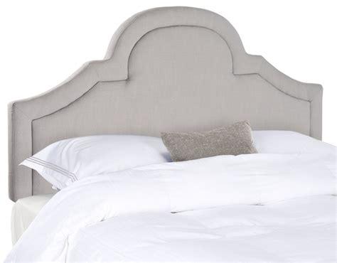 arctic upholstery kerstin arctic grey arched headboard headboards