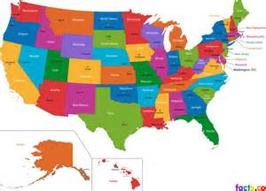map of usa states only