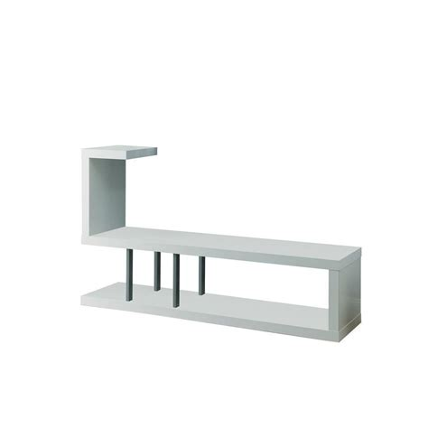 White L Stand by Monarch Specialties Tv Stand 60 Quot L White The Home