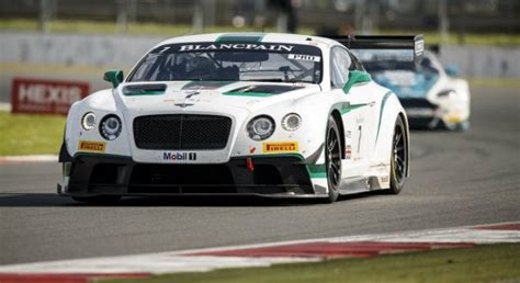 bentley penalty bentley continental gt3 earns first win at silverstone