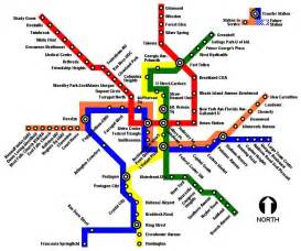 washington dc subway map pdf the dc metro system