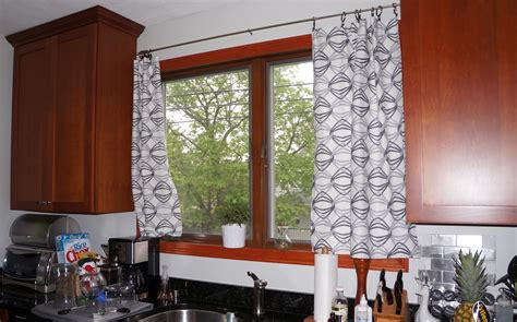 black and white curtains for kitchen and bathroom