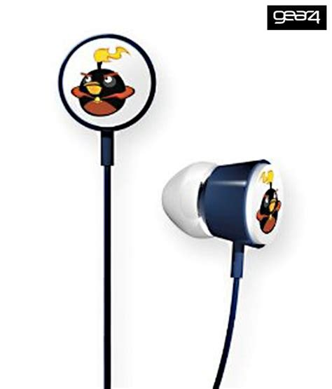 Headset Earphone Headphone Angry Bird An 40 angry birds hab009g in ear earphones buy angry birds hab009g in ear earphones at best