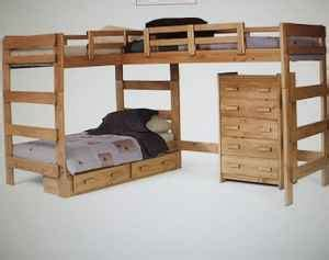 L Shaped Bunk Bed Plans 187 L Shaped Loft Bunk Bed Planspdfwoodplans