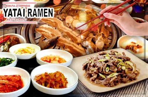 Yatai Ramen 50 yatai ramen s korean bbq grill buffet promo in alabang