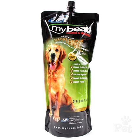 vitamins for dogs my beau vitamin supplement for dogs