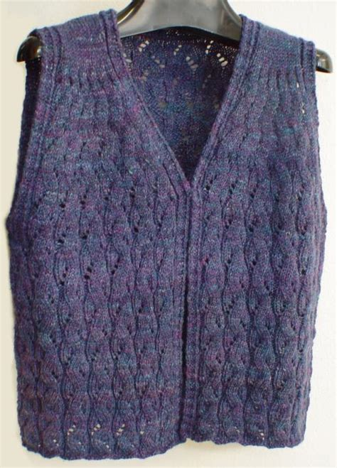 wool and buttons free knitting patterns sweet melody vest