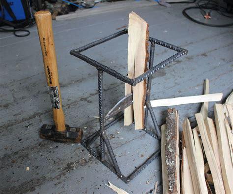kindling splitter metal work kindling