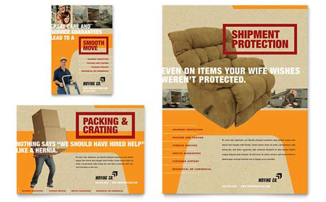 Movers Moving Company Flyer Ad Template Design Moving Company Flyer Template
