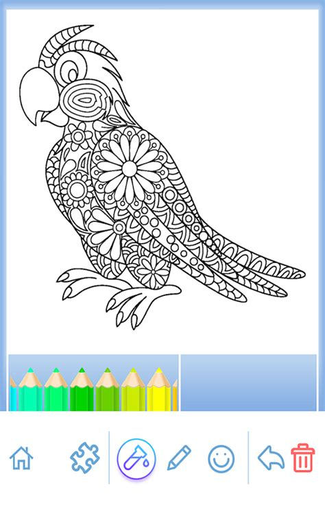coloring book free android coloring book animal mandala android apps on play