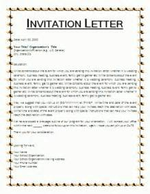 Charity Invitation Letter Template sample invitation letter for charity event invitation welcometorust