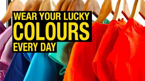lucky color of the day color trends 2017 wear your lucky colours every day
