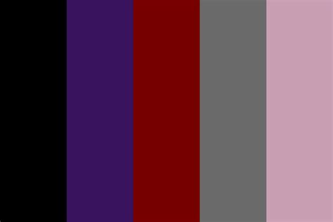 Color Palette 2017 livingdoll goth v1 color palette