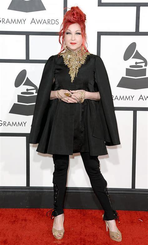 Grammy Awards Cyndi Lauper by Cyndi Lauper 2014 Grammy Awards Grammys 2014 Carpet