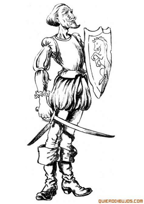 imagenes de don quijote a lapiz dibujo de don quijote