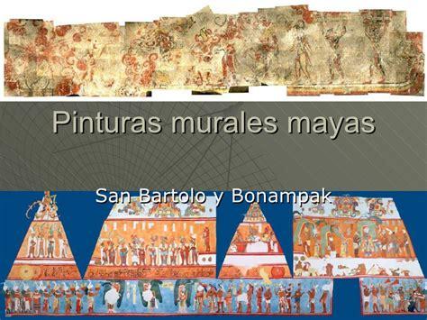 imagenes de murales mayas pinturas murales mayas