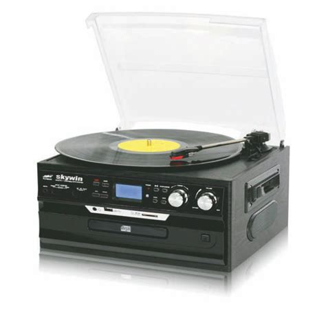 cd cassette player china usb record turntable player with cd cassette player