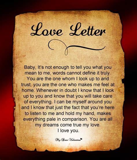 Sle Valentines Letter