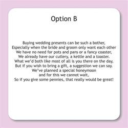 how to request donations for couples honeymoon wedding gift wording wedding ideas