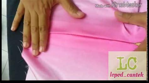 cara membuat zip sorok menjahit zip sorok menggunakan tapak biasa youtube