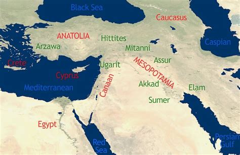 ancient middle east map river the cradle of civilization the ancient near east an