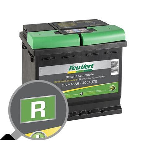 le batterie batterie voiture feu vert r feu vert
