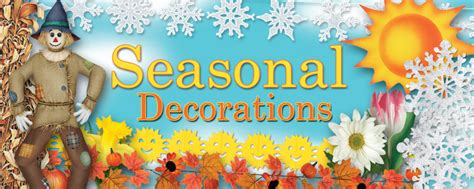 Seasonal Decorations by Seasonal Decorations Supplies Partycheap