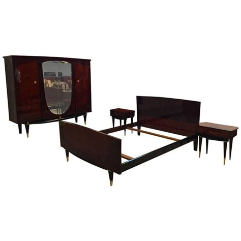 art deco bedroom set french art deco bedroom set bed nightstands and armoire