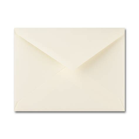 fine impressions stationery ecru envelopes no 6