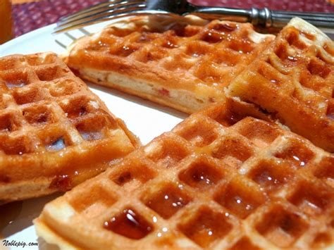 the belgian waffle cookbook sweet and savory belgian waffle recipe for every morning books maple bacon waffles noble pig