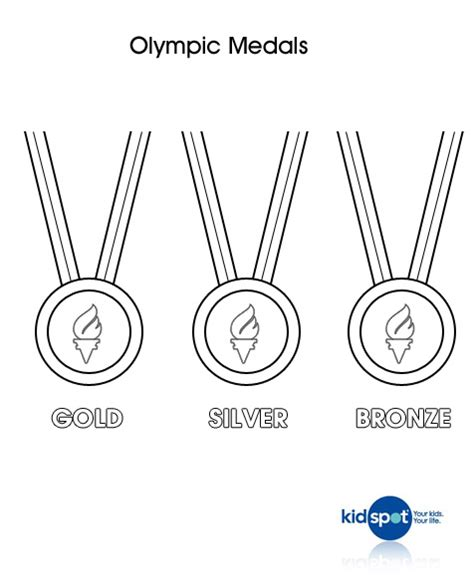 olympic medal colouring page olympics colouring pages