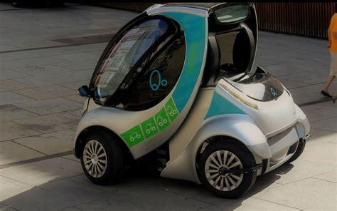 Auto Falten by Hiriko Foldable Electric Car Folding Photo 2