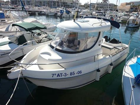 used house boats quicksilver 630 pilothouse in rc de regatas de alicante power boats used 66545 inautia