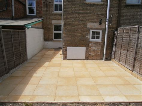 awbs landscaping oxford rear garden patio paving