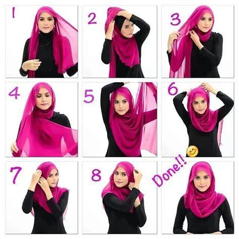 tutorial hijab chiffon cute summer inspired hijab tutorial hoofddoeken