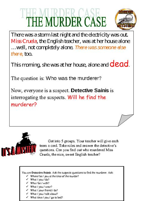 lesson plan for murder a master class mystery master class mysteries books murder mystery